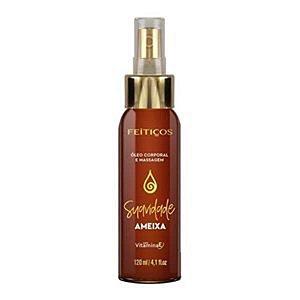 FEITIÇOS - Óleo Afrodisíaco Para Massagem - Significado: Suavidade Aroma: Ameixa