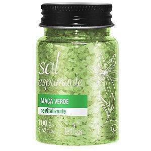 SAIS DE BANHO - Sal Espumante   Aroma: Maçã Verde   100g