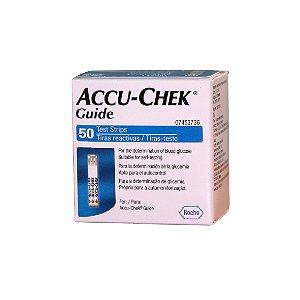 ACCU-CHEK GUIDE 50 TIRAS