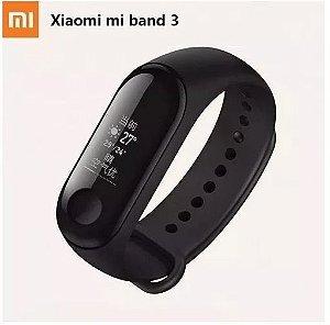 smartband xiaomi mi band 3 pulseira preta - Original Acabando