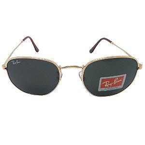 Óculos de sol Ray-Ban modelo RB3548 Hexagonal Flat 51mm