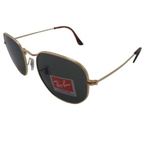 Óculos de sol Ray-Ban modelo RB3548 Hexagonal Flat 54mm