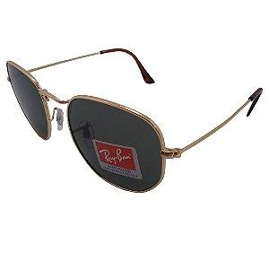 Óculos de sol Ray-Ban modelo RB3548 Hexagonal Flat 54mm