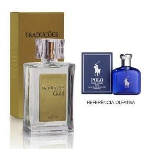 Perfume Masculino Hinode Traduções Gold nº29 (Fragrancia Do Polo Blue) 100Ml