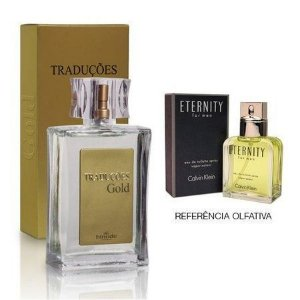 Perfume Masculino Hinode Traduções Gold nº59 (Fragrancia Do Eternity - Calvin Klein) 100Ml