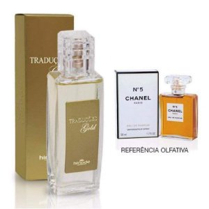 Perfume Feminino Hinode Traduções Gold nº5 (Fragrancia Do Chanel 5 - Chanel) 100Ml