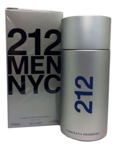 Perfume Importado Masculino 212 NYC Carolina Herrera