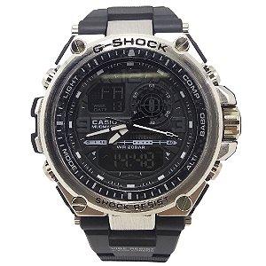 Relógio Casio G-Shock Digital Analógico G-Steel - Acabando