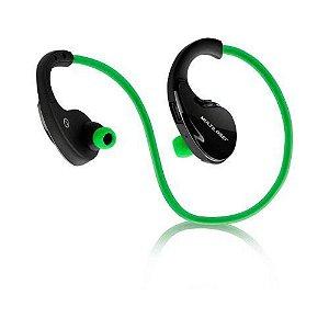 Fone de ouvido Arco Sport Bluetooth Verde Multilaser - PH184