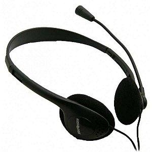 Fone de ouvido c/ microfone Headset Multilaser - PH002