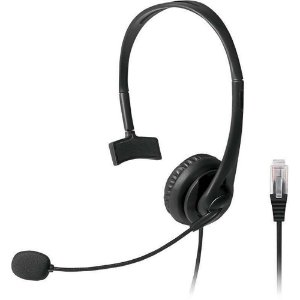 Fone de ouvido c/ microfone RJ09 Telemarketing Headset Multilaser - PH251