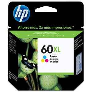 Cartucho 60 XL colorido HP – CC644WB