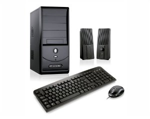 Micro Desktop Pentium, HD 1 TB, Mem 4 GB, Mon Led 18 pol.