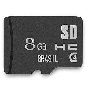 Cartão de Memória Micro SD 8 GB Multilaser – MC141