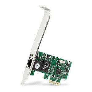 Placa de Rede PCI Express RJ45 DEX DP-02