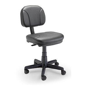 Cadeira Giratória Secretária Estofada Plaxmetal
