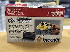 Cartucho + refil Brother LC-A9 para emplastificadora LX-900 e LX-910D