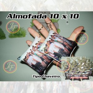 Kit com 50 Almofadas Personalizadas 10 X 10 cm Almochaveiro