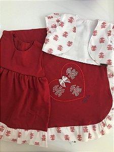 Saída de Maternidade Vermelha Ana Maria