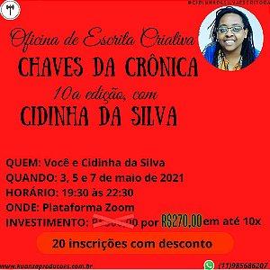 Oficina de escrita criativa CHAVES DA CRÔNICA 10a edição