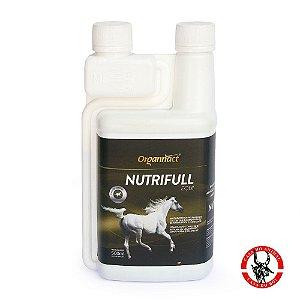 Suplemento vitamínico mineral aminoácido para Cavalos - Nutrifull Equi Organnact - 500ml