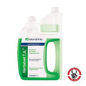 Desinfetante Bactericida Herbalvet T. A. Ouro Fino - 1000ml