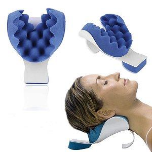 Suporte Travesseiro Massagem Cervical Pescoço Ombro
