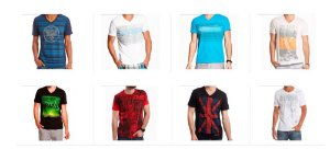 Kit Sortido 10 Camisetas Guess Masculinas - Tamanhos Variados