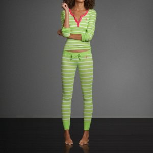 Calça Abercrombie & Fitch Feminina Katrina Sleep - Green