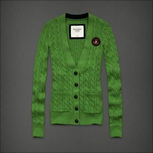 Casaco Abercrombie & Fitch Feminino Cardigan Natasha - Light Green