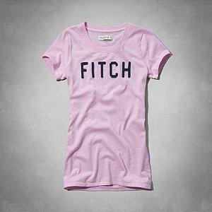 Camiseta Abercrombie & Fitch Feminina Feminina Carley - Lilac