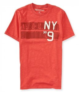 Camiseta Aéropostale MasculinaNY9 Graphic Tee - Red