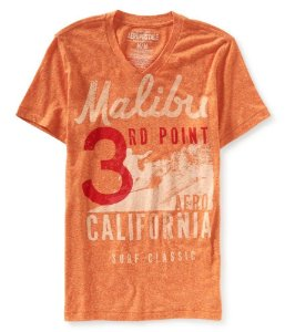 Camiseta Aéropostale Masculina Malibu - Summer Citrus