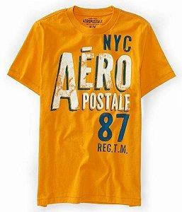 Camiseta Aéropostale Masculina NYC 87 - Amber Waves