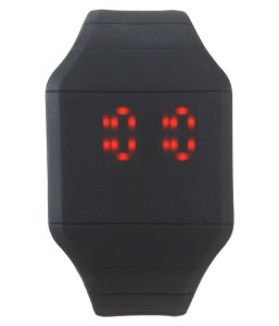 Relógio Masculino LED Touch Sport - Black