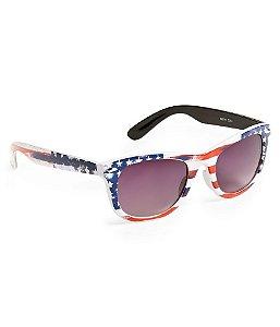 Óculos Aéropostale US Flag Wayfarer - White