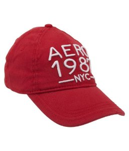 Boné Aéropostale aero 1987 nyc fitted hat - Red