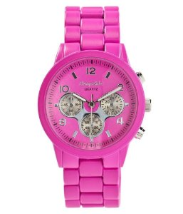 Relógio Aéropostale Feminino Boyfriend Metal - Oxford Pink