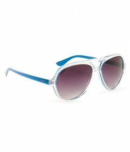 Óculos Aéropostale Neon Plastic Aviator Sunglasses - Exotic Royal