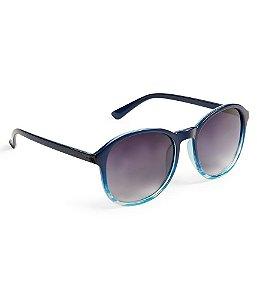 Óculos Aéropostale Preppy Round Stripe - Extreme Blue
