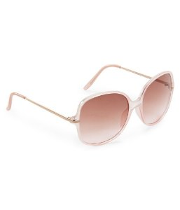Óculos Aéropostale Round Butterfly - Rose Gold