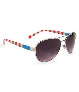 Óculos Aéropostale Americana Aviator - Silver