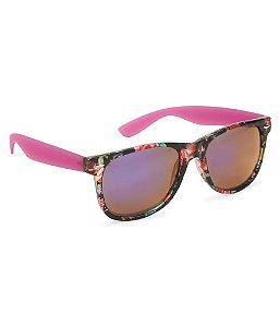 Óculos Aéropostale Floral Wayfarer - Purple