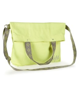Bolsa Aéropostale Feminina Fold-Over Canvas Tote - Green