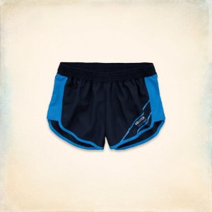 Short Hollister Feminino Sport Running  - Navy
