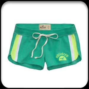 Short Hollister Feminino Helsink - Green