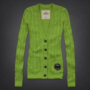 Sweater Hollister Feminino Mission Beach - Green