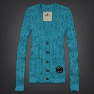 Sweater Hollister Feminino Mission Beach - Turquoise