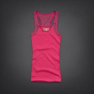 Blusinha Hollister Feminina Breakwall Tank - Pink
