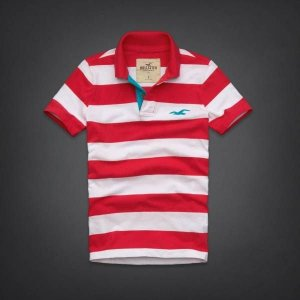 Polo Hollister Masculina La Jolla Cove - Light Red
